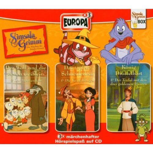 Various - Simsalagrimm Box 1-3. 3 CDs. - Preis vom 15.06.2021 04:47:52 h