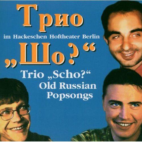 Trio Scho - Old Russian Popsongs - Preis vom 14.06.2021 04:47:09 h