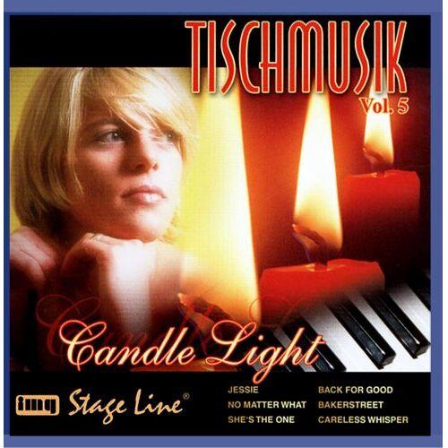 Tischmusik - Tischmusik Vol. 5 - Candle Light - Preis vom 22.06.2021 04:48:15 h