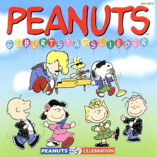 Ramses Ladiges - Peanuts-Geburtstagslieder - Preis vom 13.06.2021 04:45:58 h