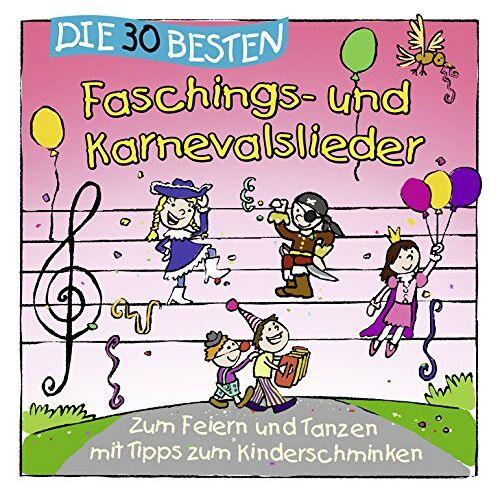 Simone Sommerland - Die 30 besten Faschings- und Karnevalslieder - Preis vom 19.06.2021 04:48:54 h