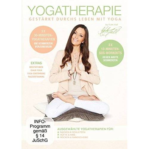 Kate Hall - Yogatherapie - Gestärkt durchs Leben mit Yoga - Preis vom 31.07.2021 04:48:47 h