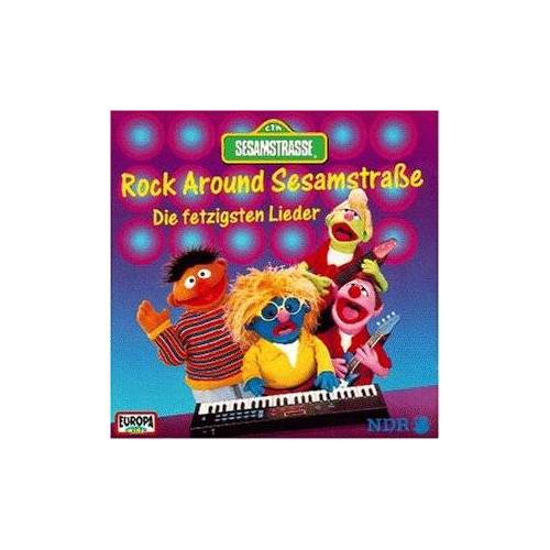 Sesamstrasse - Rock Around Sesamstraße - Preis vom 11.06.2021 04:46:58 h