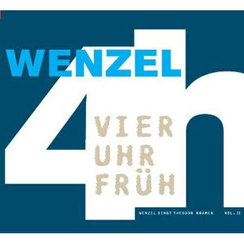 Hans-Eckardt Wenzel - 4 Uhr Früh/Wenzel Singt Theodor Kramer 2 - Preis vom 22.06.2021 04:48:15 h
