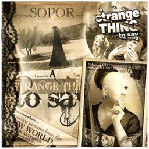 Sopor Aeternus - A Strange Thing to Say - Preis vom 11.09.2021 04:59:06 h