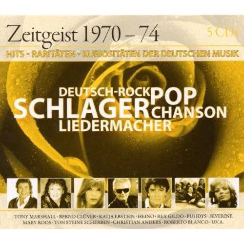 Various - Zeitgeist 70-74 - Preis vom 17.05.2021 04:44:08 h