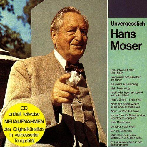 Hans Moser - Unvergesslich-Hans Moser- - Preis vom 22.06.2021 04:48:15 h