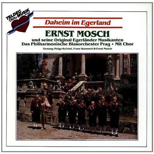 Mosch, Ernst & Orig.Egerländer - Daheim im Egerland - Preis vom 22.06.2021 04:48:15 h