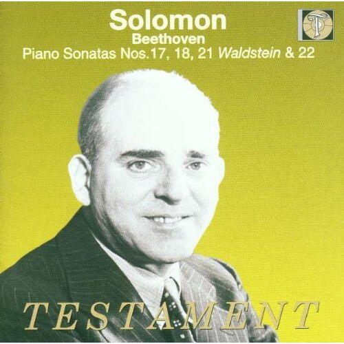 Solomon - Solomon spielt Beethoven (Sonaten Nr. 17, 18, 21, 22) (Aufnahmen 1951-1954) - Preis vom 30.07.2021 04:46:10 h