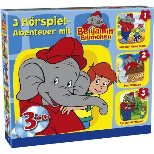 Benjamin Blümchen - Benjamin 3 CD Box - Preis vom 30.07.2021 04:46:10 h