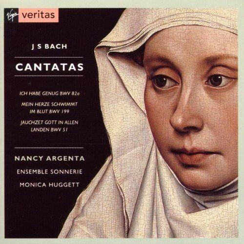 Argenta - Kantaten BWV 51, 82a, 199 - Preis vom 12.06.2021 04:48:00 h