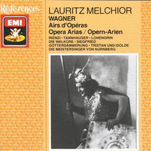 Lauritz Melchior - Lauritz Melchior: Richard Wagner - Opern-Arien - Preis vom 12.06.2021 04:48:00 h