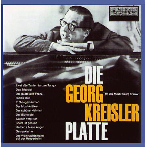 Georg Kreisler - Die Georg Kreisler Platte - Preis vom 11.09.2021 04:59:06 h