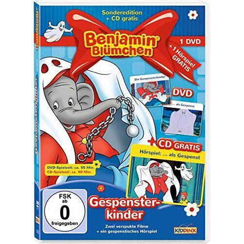 Kiddinx - Benjamin Blümchen - Gespensterkinder: DVD: als Gespenst + Die Gespensterkinder. CD: als Gespenst - Preis vom 17.06.2021 04:48:08 h