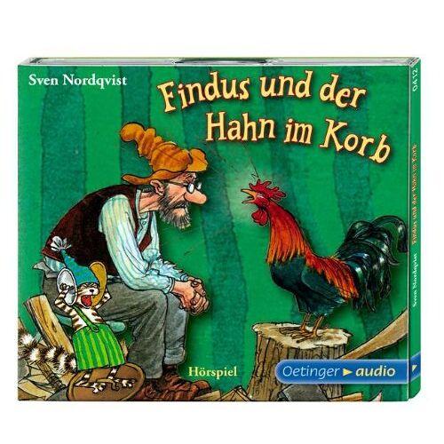 Sven Nordqvist - Findus und der Hahn im Korb (CD) - Preis vom 09.06.2021 04:47:15 h