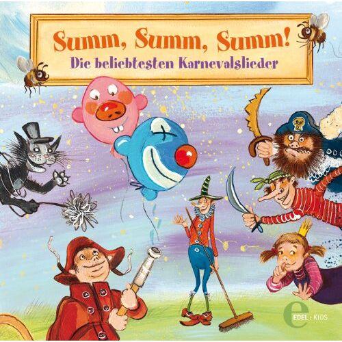 Various - Summ, Summ, Summ! - Die beliebtesten Karnevalslieder - Preis vom 19.06.2021 04:48:54 h