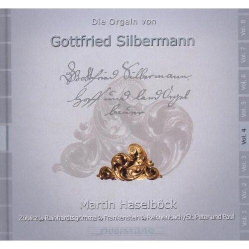 Martin Haselboeck - Die Silbermann-Orgeln Vol.4 - Preis vom 19.06.2021 04:48:54 h