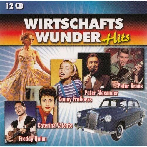 Various - Wirtschaftswunder Hits - 12 CD LP Box - Preis vom 02.08.2021 04:48:42 h