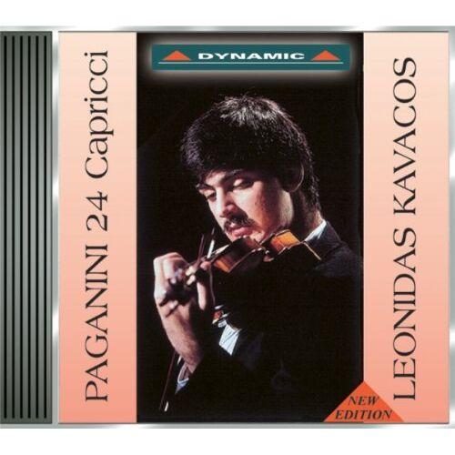 Leonidas Kavakos - Paganini: 24 Capricen Op. 1 - Preis vom 14.06.2021 04:47:09 h