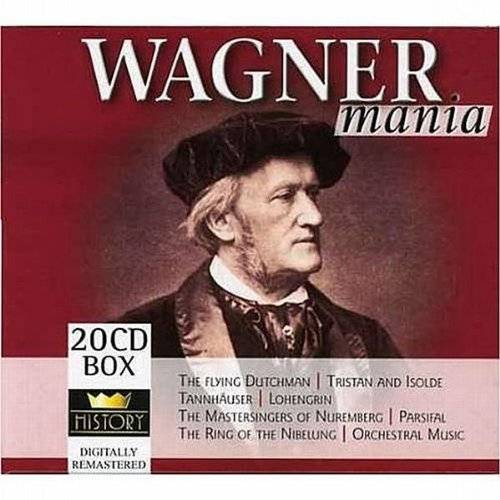Wagner - Wagnermania 20cd Box - Preis vom 19.06.2021 04:48:54 h