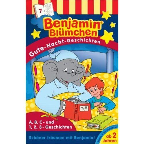 Benjamin Blümchen - Benjamin Blümchen. Gute-Nacht-Geschichten 7. Cassette [Musikkassette] - Preis vom 12.10.2021 04:55:55 h