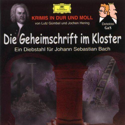 Hubert Schlemmer - Krimis in Dur und Moll - Die Geheimschrift im Kloster - Preis vom 26.07.2021 04:48:14 h