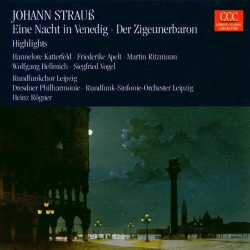 Ebert - Strauss: Eine Nacht in Venedig - Der Zigeunerbaron (Querschnitt) - Preis vom 13.06.2021 04:45:58 h