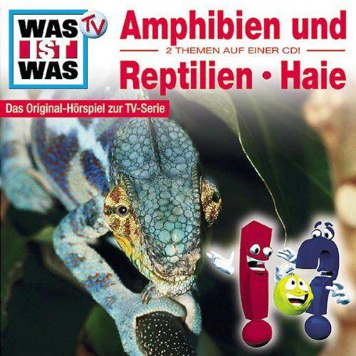 Was Ist Was - WAS IST WAS, Folge 03: Amphibien & Reptilien/Haie - Preis vom 14.06.2021 04:47:09 h
