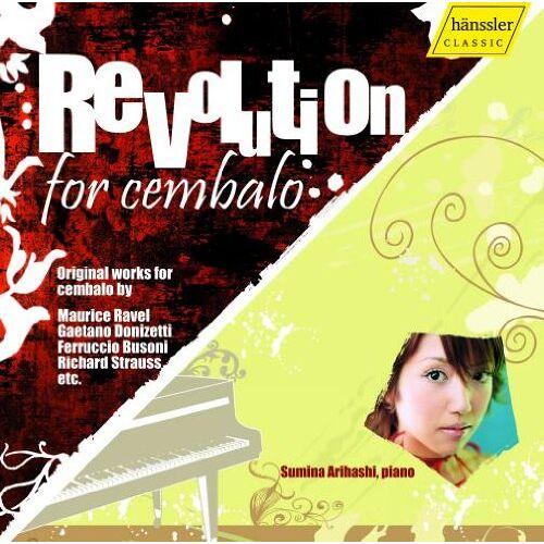 Sumina Arihashi - Revolution for Cembalo - Preis vom 21.06.2021 04:48:19 h