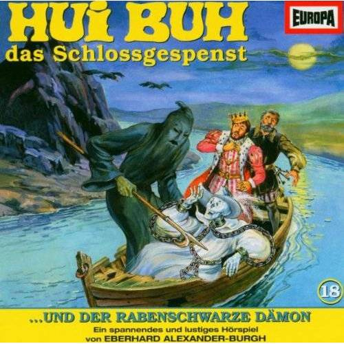 Hui Buh 18 - Hui Buh das Schlossgespenst 18 und der rabenschwarze Dämon. CD. - Preis vom 20.06.2021 04:47:58 h