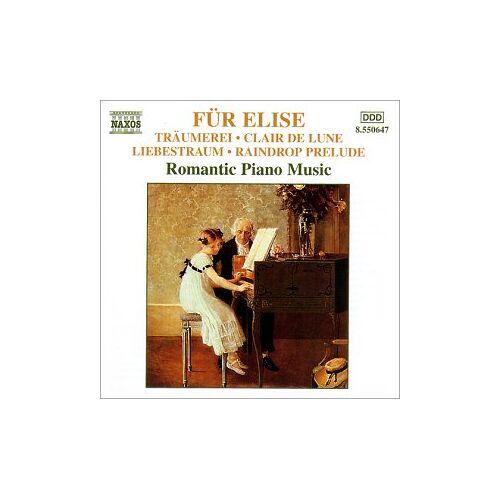 Various - Klavier Romantische Klaviermusik (für Elise) - Preis vom 12.06.2021 04:48:00 h