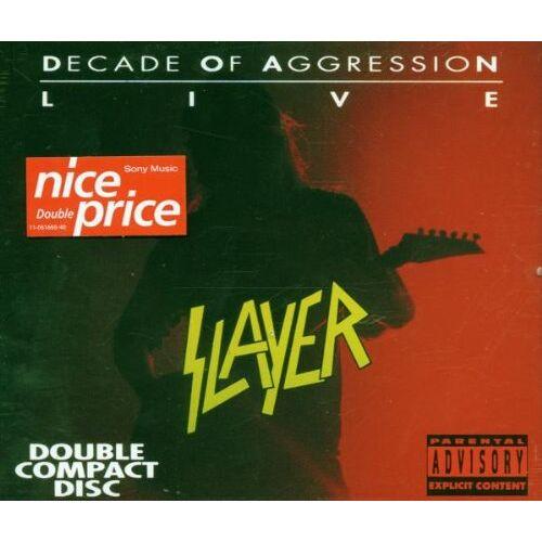 Slayer - Decade of Aggression - Preis vom 24.07.2021 04:46:39 h