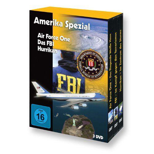 Ng - Amerika Spezial (Air Force One - FBI - Hurrikan) - 3 DVD Box - Preis vom 16.10.2021 04:56:05 h