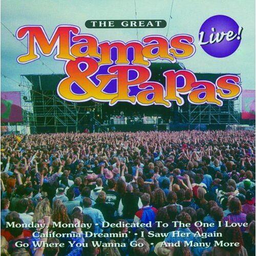 Mamas & The Papas - The Great Mamas & Papas - Preis vom 15.06.2021 04:47:52 h