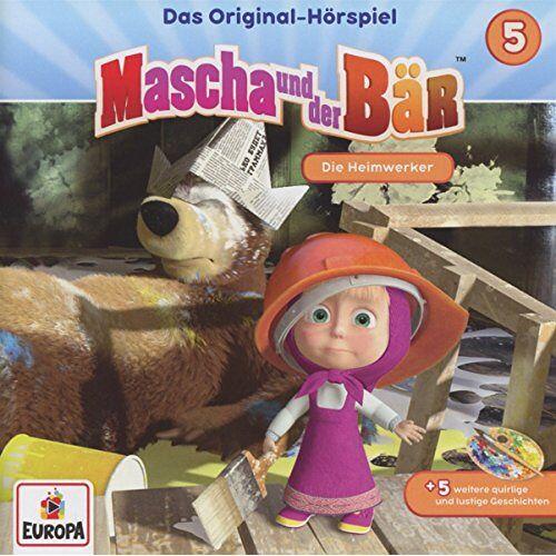Mascha und der Bär - 005/Die Heimwerker - Preis vom 13.06.2021 04:45:58 h