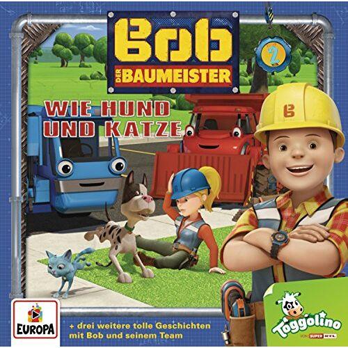Bob der Baumeister - 002 Bob der Baumeister - 2 Wie Hund und Katze - Preis vom 21.06.2021 04:48:19 h