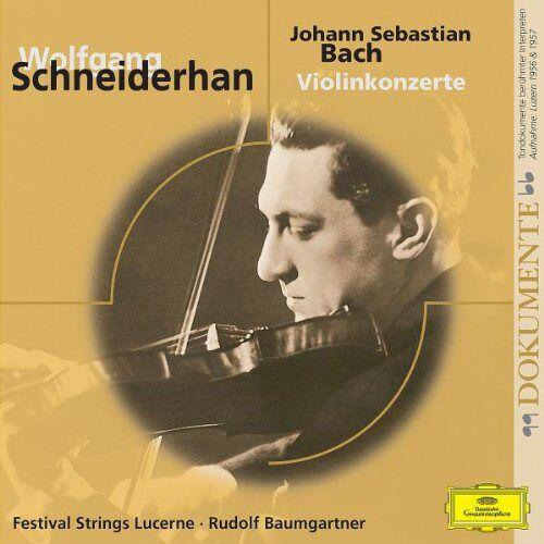 Wolfgang Schneiderhan - Violinkonzerte.1,2 - Preis vom 21.06.2021 04:48:19 h