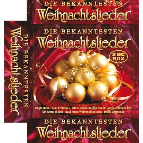 Various - Die Bekanntesten Weihnachtslieder - Preis vom 09.06.2021 04:47:15 h