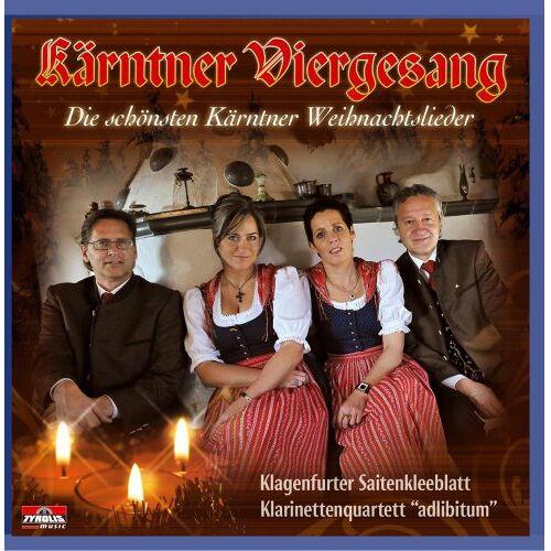Kärntner Viergesang - Die schönsten Kärntner Weihnachtslieder - Preis vom 14.06.2021 04:47:09 h