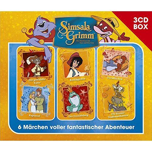 Simsalagrimm - SimsalaGrimm 3-CD Hörspielbox Vol.1 - Preis vom 15.06.2021 04:47:52 h