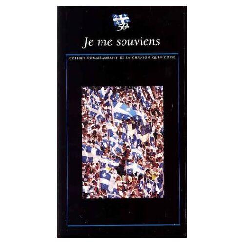 Various - 50 Ans du Drapeau du Quebec-Je - Preis vom 14.06.2021 04:47:09 h