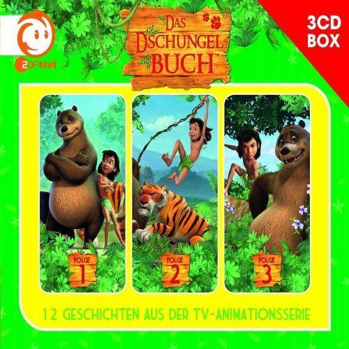 Das Dschungelbuch - Das Dschungelbuch-3-CD Hörspielbox Vol.1 - Preis vom 23.09.2021 04:56:55 h