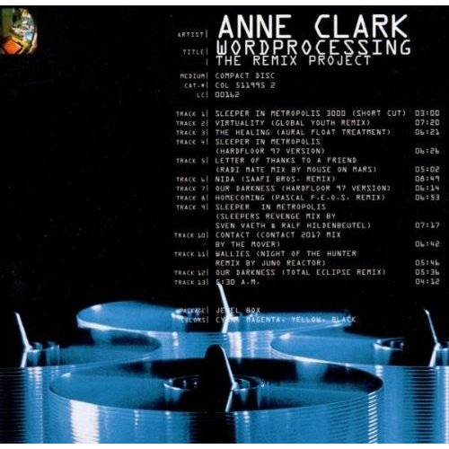 Anne Clark - Wordprocessing - Preis vom 15.06.2021 04:47:52 h