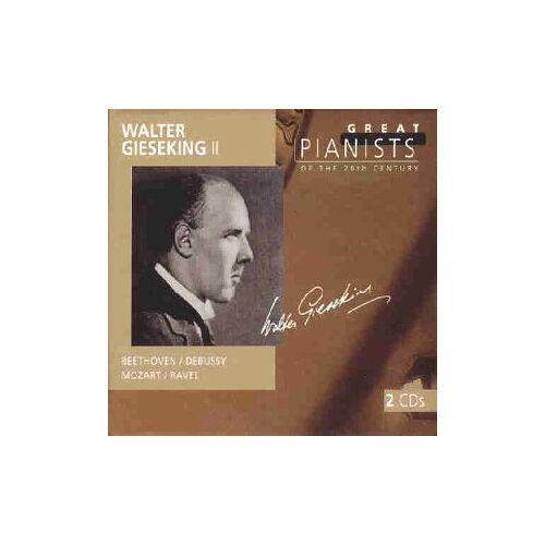 Gieseking Walter Vol - Great Pianists - Preis vom 14.06.2021 04:47:09 h