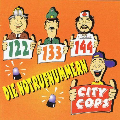 City Cops - Notrufnummern - Preis vom 18.05.2021 04:45:01 h