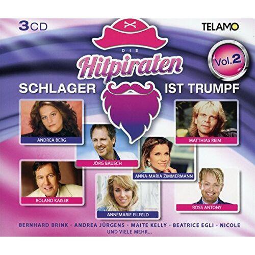 Various - Hitpiraten-Schlager Ist Trumpf Vol.2 - Preis vom 24.07.2021 04:46:39 h