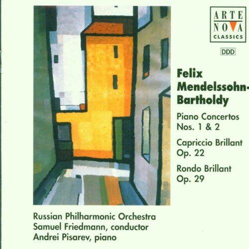 Friedmann - Mendelssohn: Piano Concerto 1 / 2 - Preis vom 13.06.2021 04:45:58 h