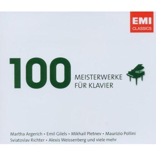 Various - 100 Meisterwerke für Klavier - Preis vom 13.06.2021 04:45:58 h