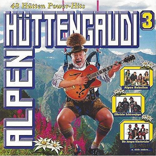 Various - Alpenhüttengaudi CD 3 (16 Hütten Power-Hits) - Preis vom 13.06.2021 04:45:58 h