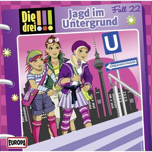 Die drei ??? - 022/Jagd im Untergrund - Preis vom 13.06.2021 04:45:58 h